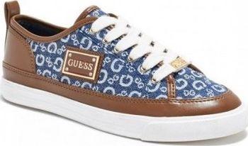 c4c906baadc5 Dámské modré tenisky Guess - Baya Logo…