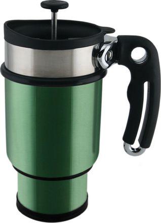 Planetary Design Double shot French press mug green tea 420 ml od