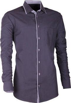 b53c33c56b9 Assante 20706. Pánská luxusní košile značky Assante s dlouhým prodlouženým  ...