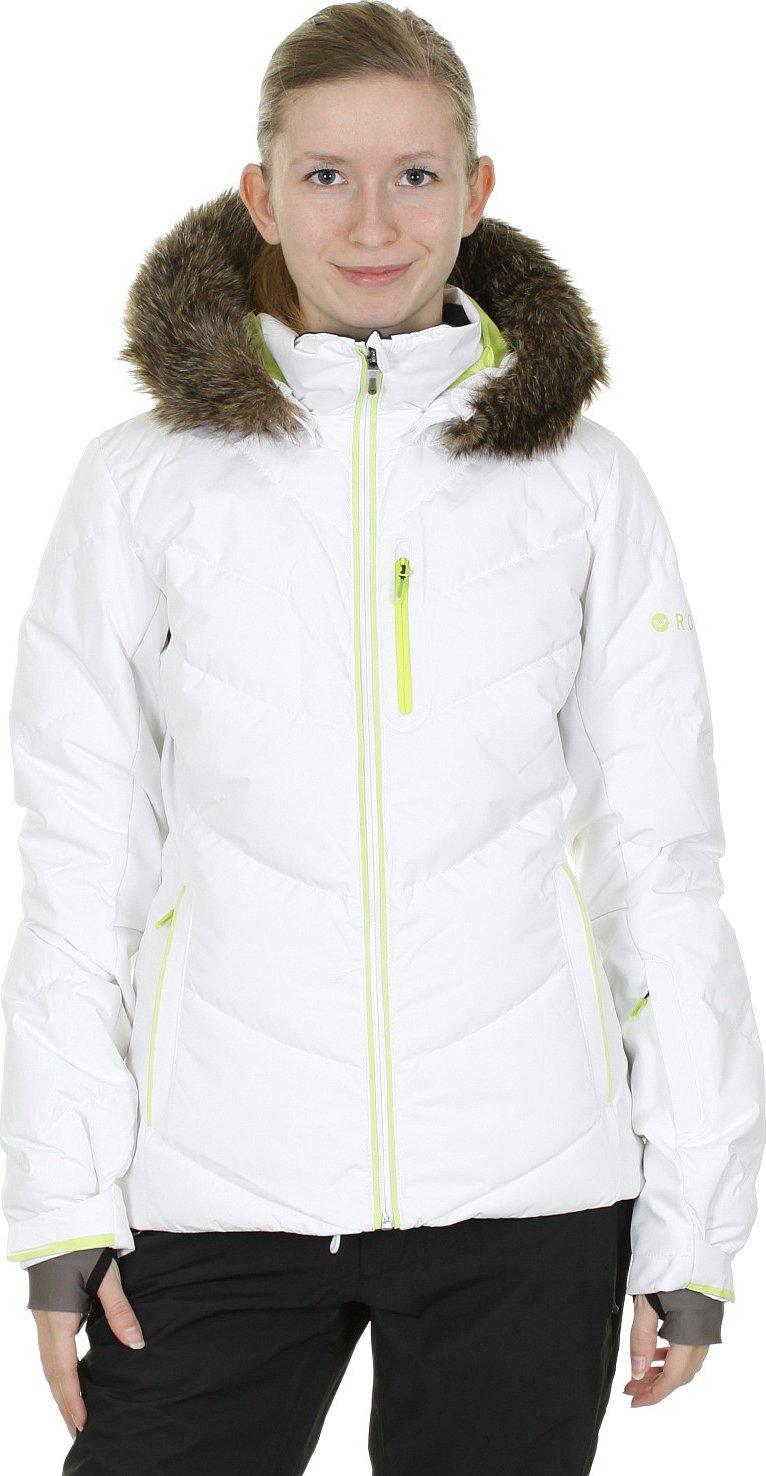 feb2d144752a Bunda Roxy Snowstorm - WBB0 Bright White - Srovnejte ceny!