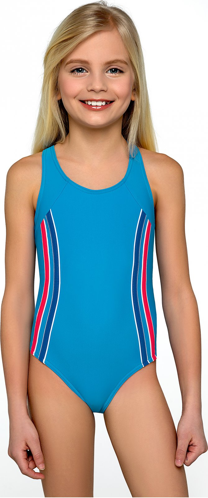 5fc03d0ea41 Lorin dívčí plavky Klárka modré 134 od 409 Kč • Zboží.cz
