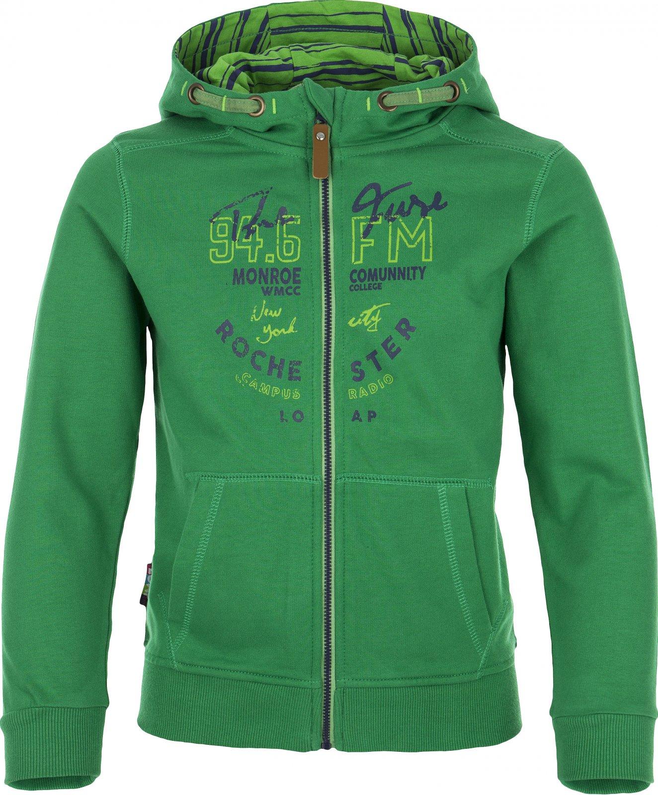 d25d441f763 Loap Hata dětská mikina s kapucí zelená 134 140 od 377 Kč • Zboží.cz