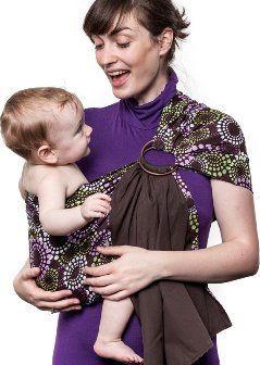 Liliputi Ring Sling šátek Lavendering hnědý od 1 869 Kč • Zboží.cz 0069a2ecd5