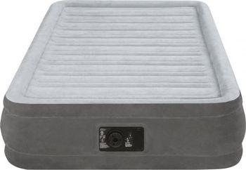 69ed9012151b Nafukovací postel TWIN INTEX je vyšší nafukovací postel o velikosti 99 x  191 x 33 cm od výrobce INTEX vyrobená z kvalitního vinylu s jemným  materiálem na ...