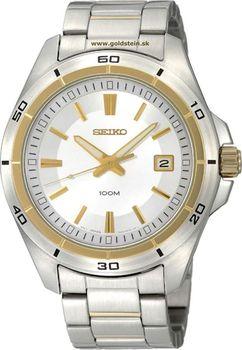 Pánské hodinky Seiko model SGEE90P1 jsou ztělesněním ušlechtilé nerezové  oceli 89d2b3e845