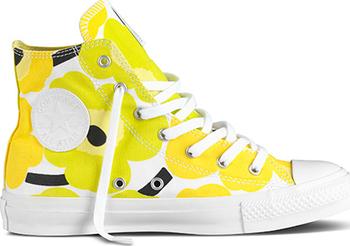 Converse Chuck Taylor All Star Premium HI žlutá  limetová  černá od ... 2f7a233648