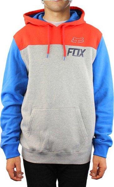 Mikina Fox Latch pullover fleece heather grey • Zboží.cz 0bd1c98824