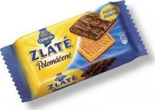 122fd09d7 Opavia Zlaté polomáčené sušenky mléčné 100g od 10 Kč | Zboží.cz