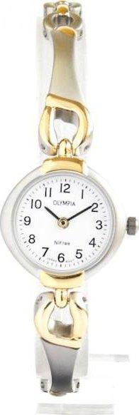 Zlacené dámské společenské titanové antialergické hodinky Olympia 10121 •  Zboží.cz 5764215a07f