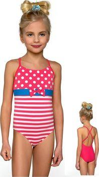 9b6983c7380 Dívčí plavky jednodílné Lorin DB3 - 110 134…