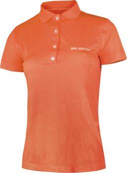 e4f82328e230 Brubeck Prestige s límečkem oranžová. Exkluzivní dámské tričko ...
