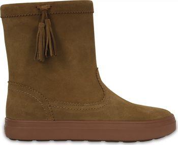Crocs LodgePoint Suede Pull-On Boot Hazelnut. Lehoučké zimní boty ... 49c5f2c944