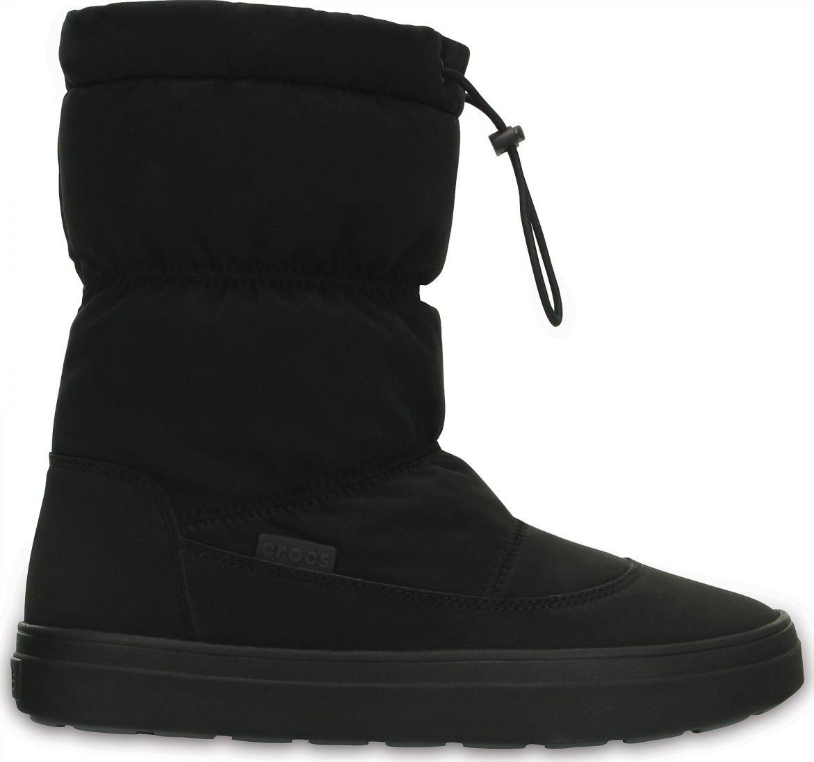 Crocs LodgePoint Pull-On Boot Black od 2 199 Kč • Zboží.cz a29a3feb1d