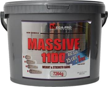 Výsledek obrázku pro Mega-Pro Nutrition - Massive 1100 Weight Strength Gains 7264 g