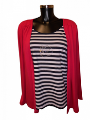 741e05b7a dámské tričko Favab Průžok DR růžové