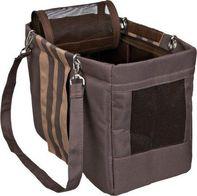 a1db54e9de4 taška pro psa Trixie Maja cestovní taška hnědo béžová