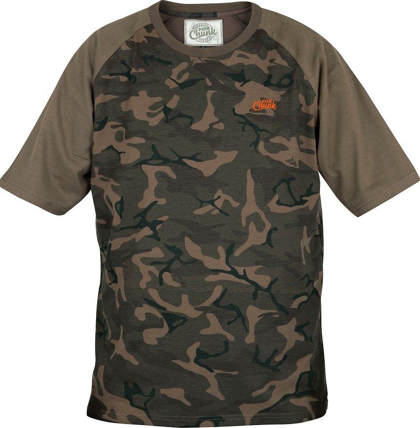 2d6d87217a Fox Chunk T-shirt Camo Camo Khaki od 499 Kč