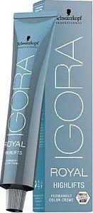 Schwarzkopf Professional Igora Royal Highlifts 60 ml. Permanentní krémová  barva na vlasy ... 98bb6196ab
