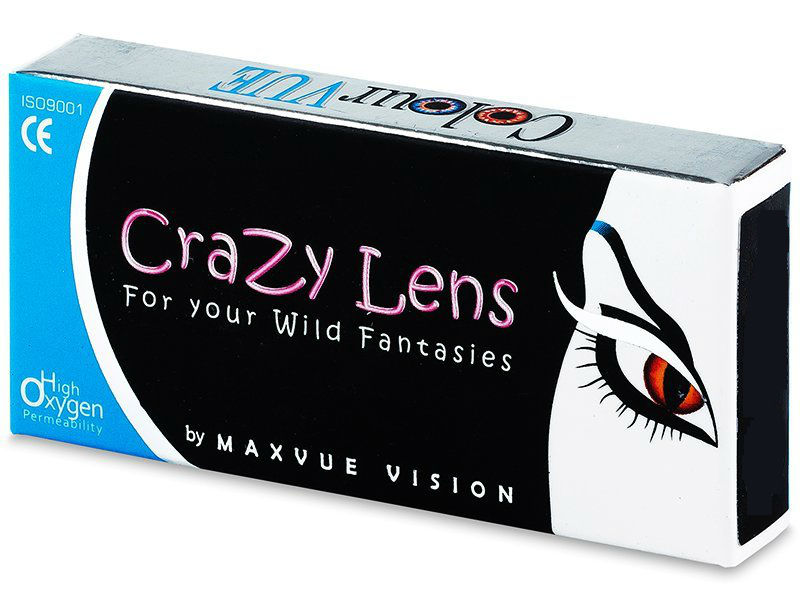 13af5ed98 ColourVue Crazy Lens UV Glow Orange nedioptrické (2 čočky) od 419 Kč |  Zboží.cz