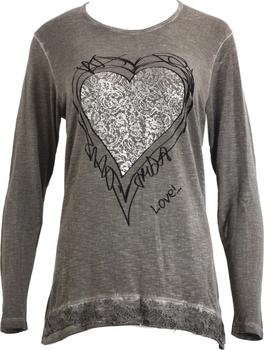 457b8419718d Dámské triko - Hegler Barva  šedá