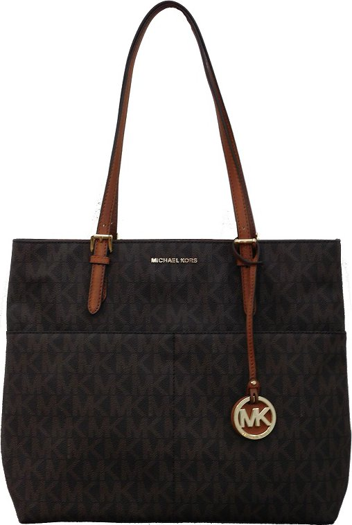 kabelka Michael Kors Bedford Pocket Tote Brown f49f4fa8437