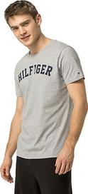 pánské tričko Tommy Hilfiger Cotton Icon SS Tee Logo Grey Heather ddcdbd68d00