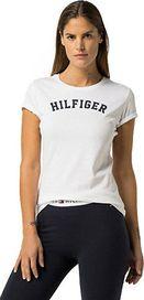 dámské tričko Tommy Hilfiger Cotton Iconic Logo SS Tee Print White 55a43a9eac0