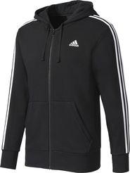 pánská mikina adidas Essentials 3-Stripes černá dce23992ce1