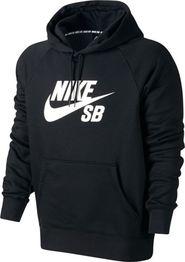pánská mikina NIKE SB Icon Essential Hoodie černá be3a9d0454d