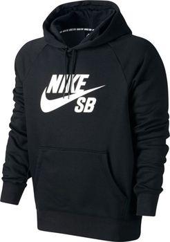85b39f2c6e8 NIKE SB Icon Essential Hoodie černá. Pánská stylová mikina ...