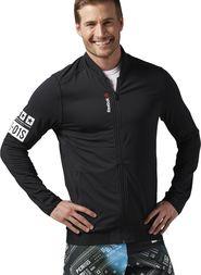 pánská mikina Reebok Speedwick Track Jacket černá 482f3c8068
