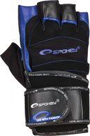 fitness rukavice Spokey Miton černé modré 21e776604d