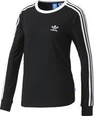 d268b33eab7e dámské tričko adidas 3stripes LS Tee černé