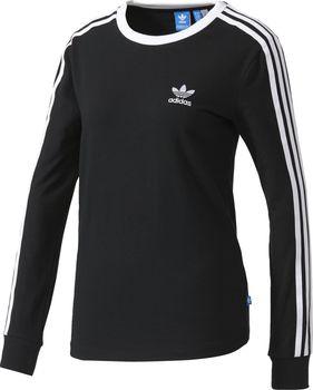 adidas 3stripes LS Tee černé od 749 Kč • Zboží.cz ada5c87efd2