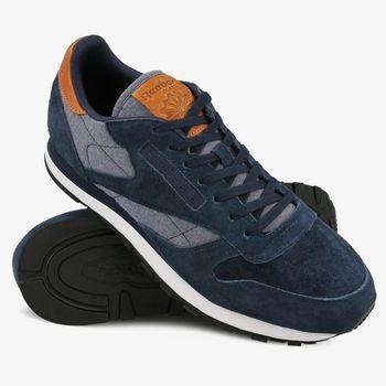 5dfa03455c4 Reebok Cl Leather Ch modrá od 1 073 Kč • Zboží.cz