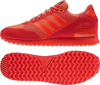adidas Originals ZX 750 WV červená. Pánské nízké boty ... 301f4d2edd1