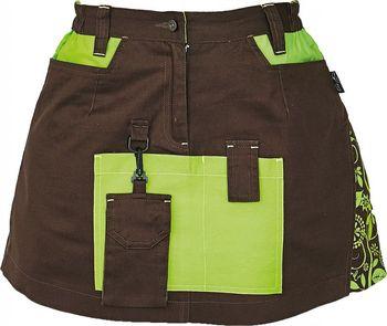 Červa Yowie dámská sukně hnědá zelená 34 od 697 Kč • Zboží.cz 5133ad7654