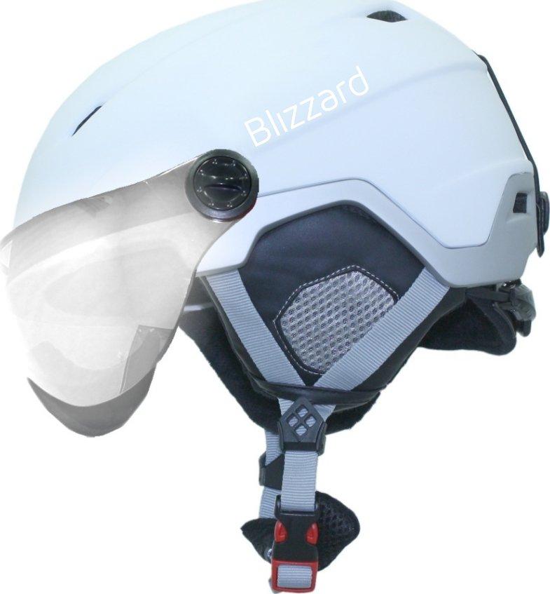 Blizzard Viva Double Visor White Matt Silver Silver Mirror 56 - 59 cm od 1  999 Kč • Zboží.cz fd150cfbb32