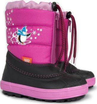 ad1312002719 Dětská zimní obuv Demar Kenny zateplená pravou ovčí vlnou je vhodná do  sněhu a mrazu. Zimní obuv je velice teplá a lehká.