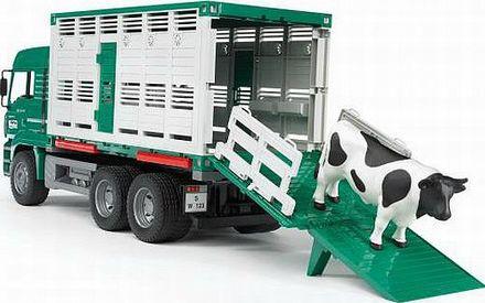 Bruder BR2749 Nákladní auto Man kontejner na zvířata