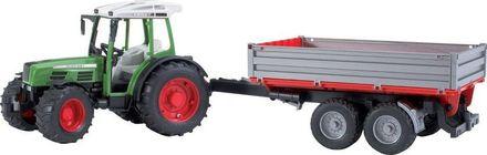 Bruder BR2104 Traktor Fendt Farmer + sklápěcí vůz