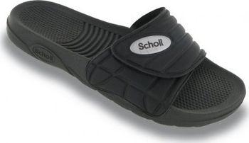 ad18e9f8123e Scholl NAUTILUS - černé zdravotní pantofle EU