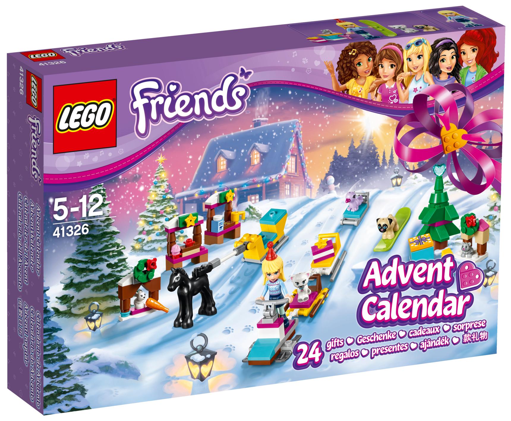 e06b4f7ab LEGO Friends 41326 Adventní kalendář od 649 Kč | Zboží.cz