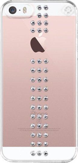 Bling My Thing Stripe Crystal pro Apple iPhone 5 5S SE + fólie od 667 Kč •  Zboží.cz 6edd8c23dbd
