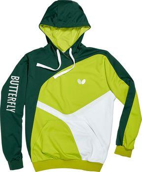 Mikina BUTTERFLY Ryo (mikina) zelená zelená… eceea6c9af