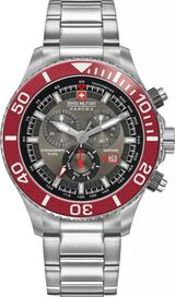 Červené hodinky Swiss Military Hanowa • Zboží.cz 493920d9405