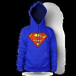 Mikina Superman classic s kapucí dámská a8a5d7e060