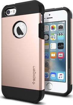 Spigen Kryt pro Apple iPhone 5   5S   SE Tough Armor Rose Gold od ... c3fc5c951f7