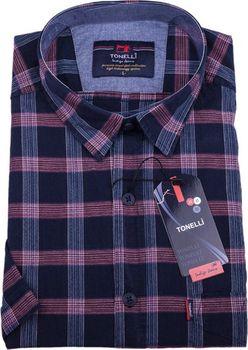 Tonelli 110810. Elegantní pánská košile klasického střihu vyrobená z velice  příjemné 100% bavlny. bcede1faba