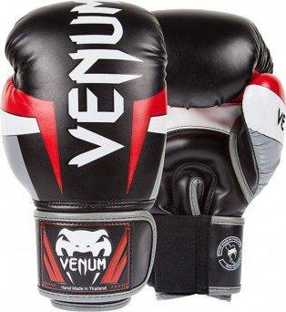 Venum Elite boxerské rukavice černé červené šedé od 1 889 Kč • Zboží.cz b31982b44d